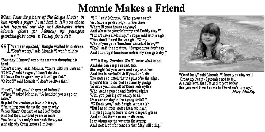 Monnie Makes a Friend