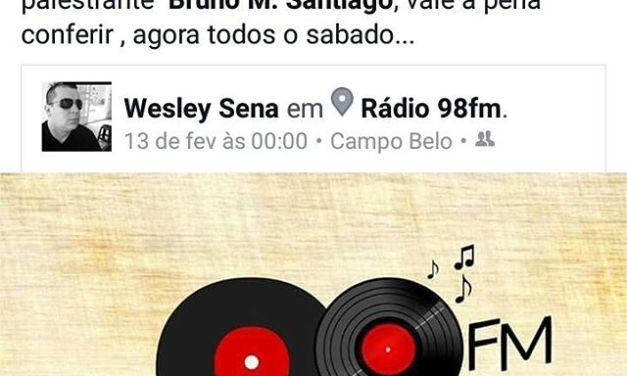 Rádio 98 FM de Campo Belo/MG