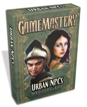 GameMastery Face Cards: Urban NPCs