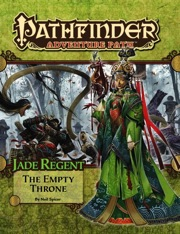 Pathfinder Adventure Path #54: The Empty Throne (Jade Regent 6 of 6) (PFRPG)