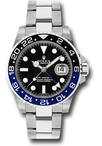 "Pajak Rolex (GMT-Master II Watch-16710BLNR-Oyster-Perpetual-Date-""Batman""-Full-Set RM48,000)"