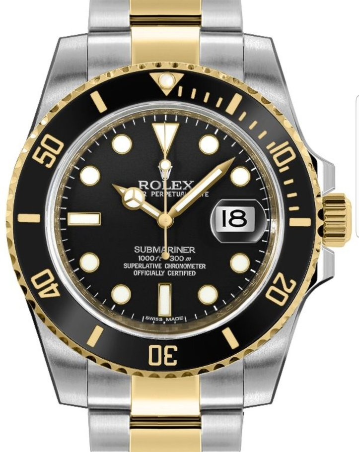 Pajak Rolex-Submariner-Date-116613LN RM38,000