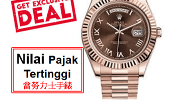 Pajak Jam Rolex Day-Date