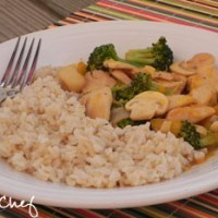 Orange-Glazed Chicken Stir-Fry