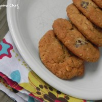 Peanut Butter Honey Oatmeal Cookies