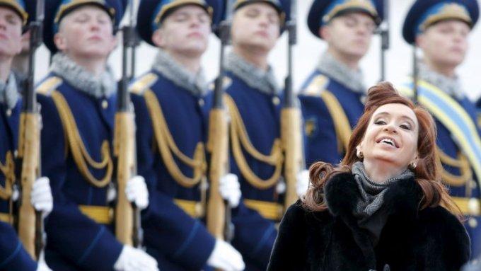 Cristina en Moscú