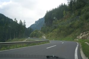 Nice roads in Austria