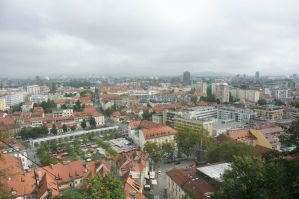 View over Ljubljana