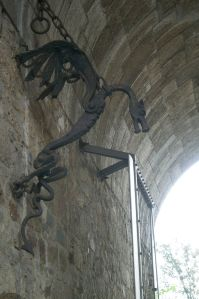Dragon in Ljubljana castle