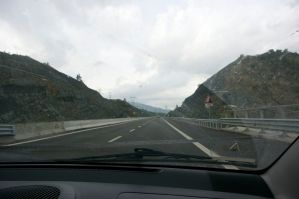 The roads in Albania are in great conditions