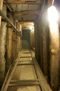 The tunnel under Sarajevo airport