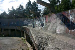 Bobs ledge track in Sarajevo