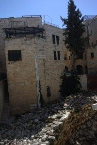 Äldsta stadsmuren