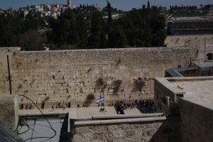Västra muren (klagomuren)