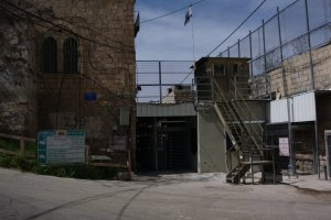 Another checkpoint in Hebron