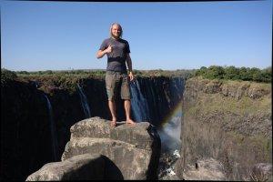 Jonathanat Victoria Falls