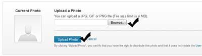 Pilih photo yang ada dikomputer kemudian klik upload  Cara menambahkan photo untuk profil LinkedIn Pilih photo yang ada dikomputer kemudian klik upload