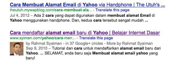 cara membuat alamat email yahoo