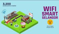Cara Connect Wifi Smart Selangor Percuma