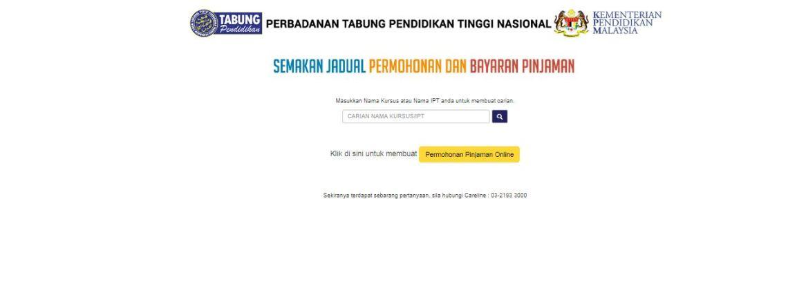 Panduan Semakan Tarikh Kemasukan Duit PTPTN Online