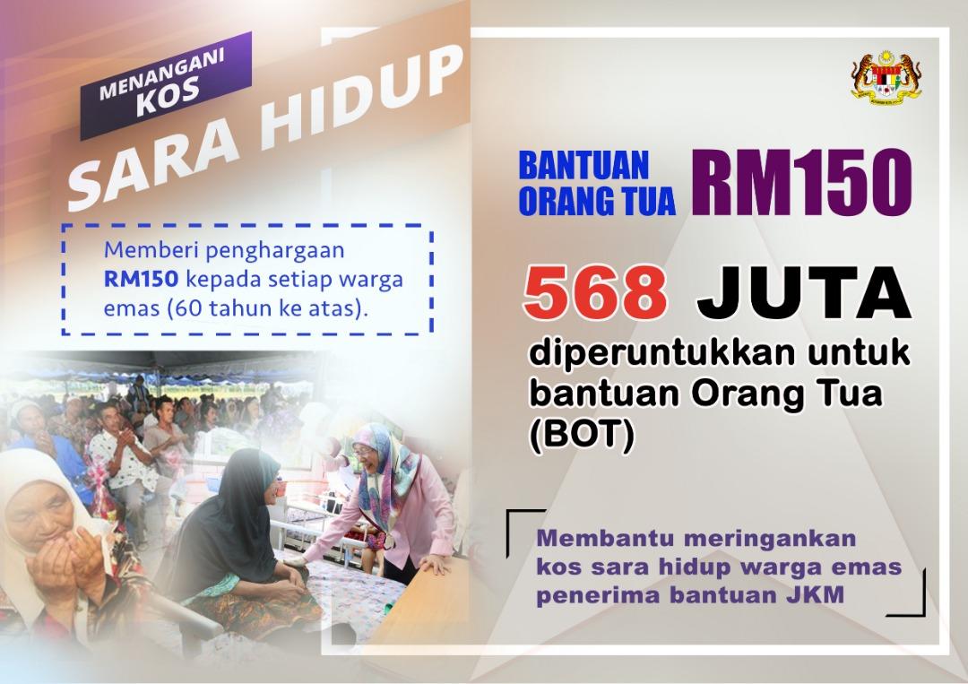 Mohon Bantuan Warga Emas RM350 Sebulan