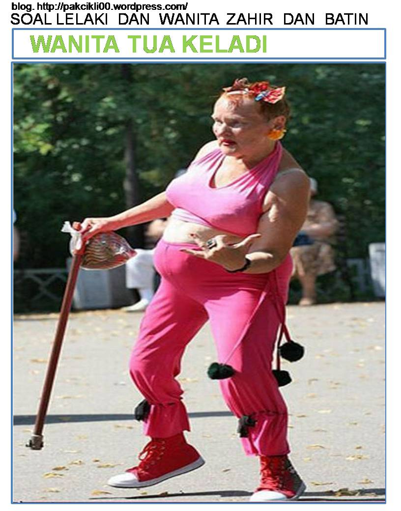 wanita tua keladi