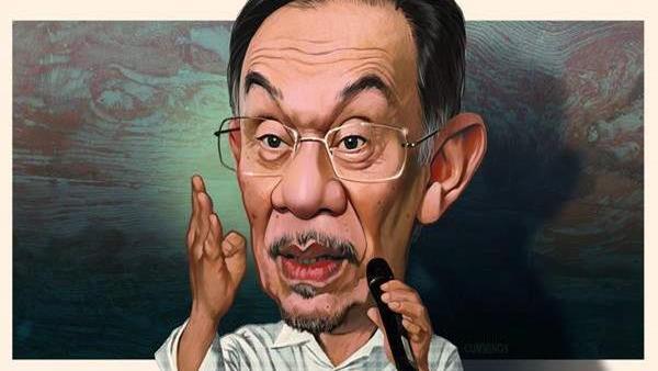 Anwar Ibrahim Malaysia complex politician