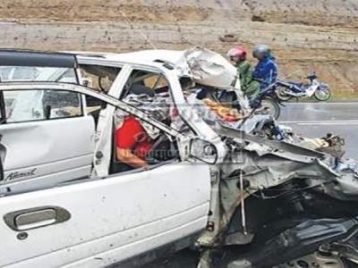 kemalangan Kilometer 82 Jalan Selangau-Mukah