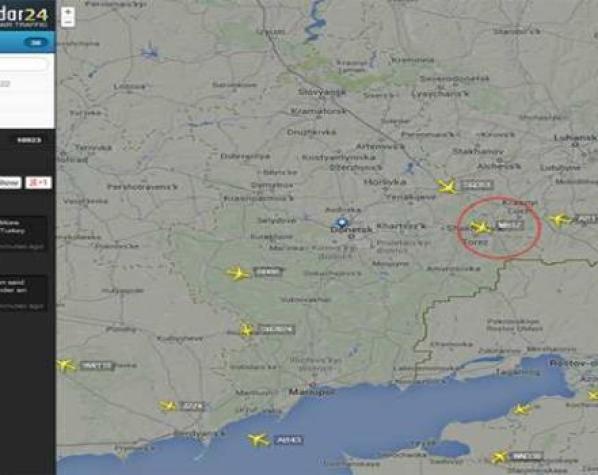 SQ315 Penerbangan Singapura berada kira-kira 25km daripada MH17 ketika kejadian