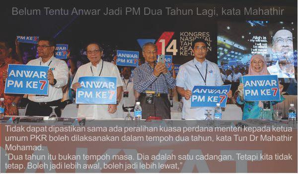 Manipulasi Hutang Negara dan sensasi 1MDB alasan untuk terus menjadi PM sampai mati