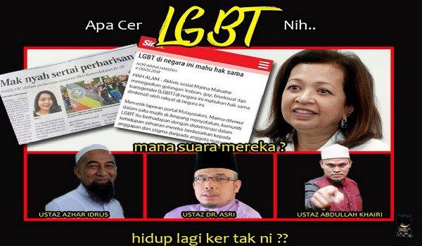 Sedangkan Russia pun tolak LGBT, apa alasan Marina Mahathir