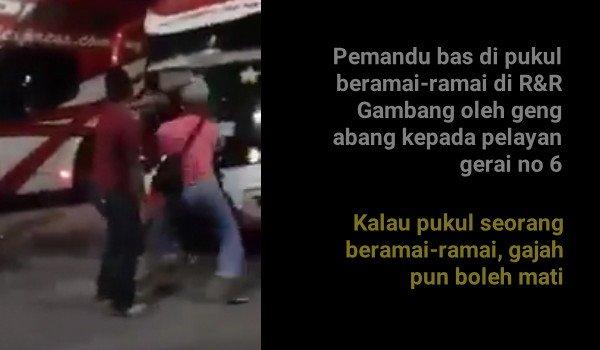 [Video]Tak puashati punca pergaduhan di R&R Gambang - Polis
