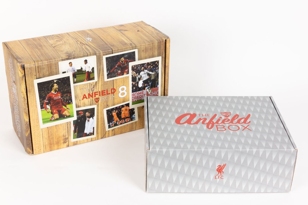 Custom subscription box by Anfield.