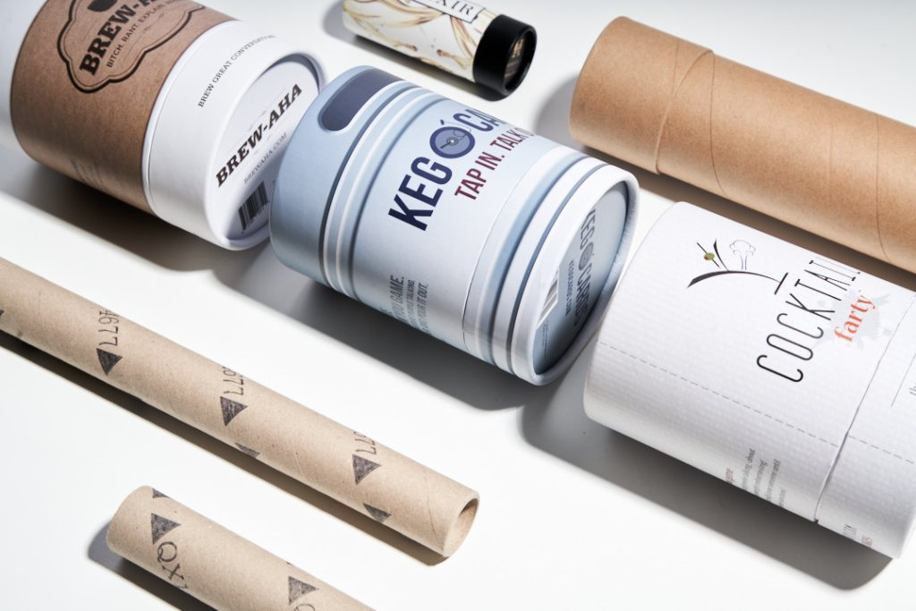 Example of tube packaging