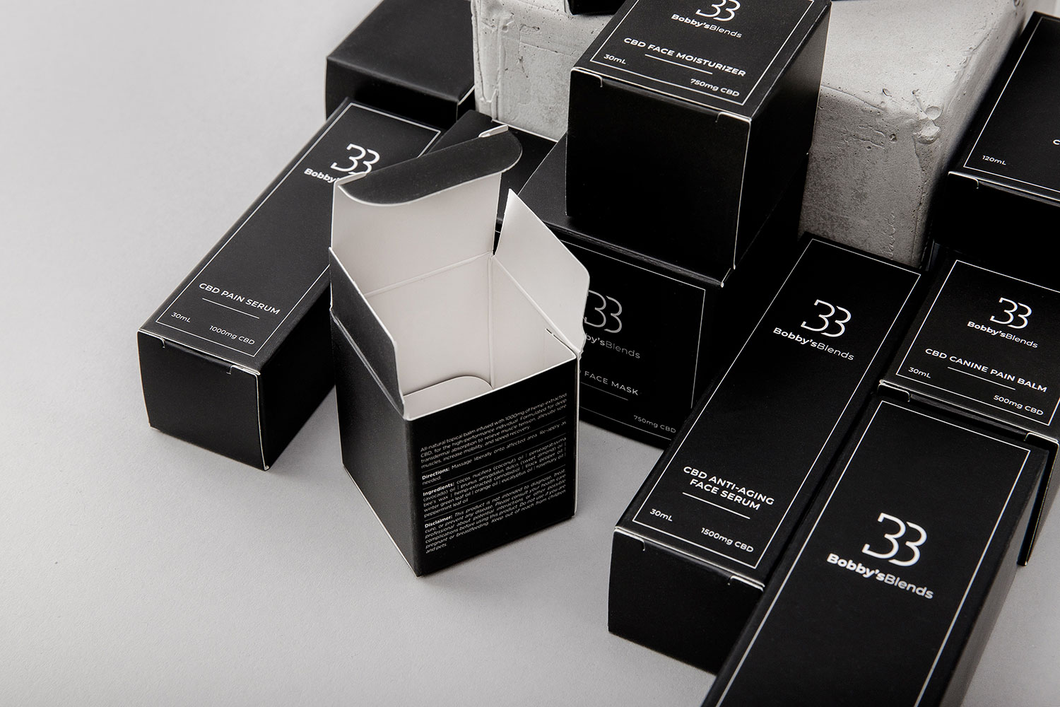 Example of Sensitiva Packaging