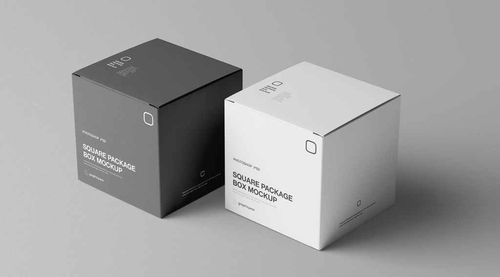 Example of packaging mock up