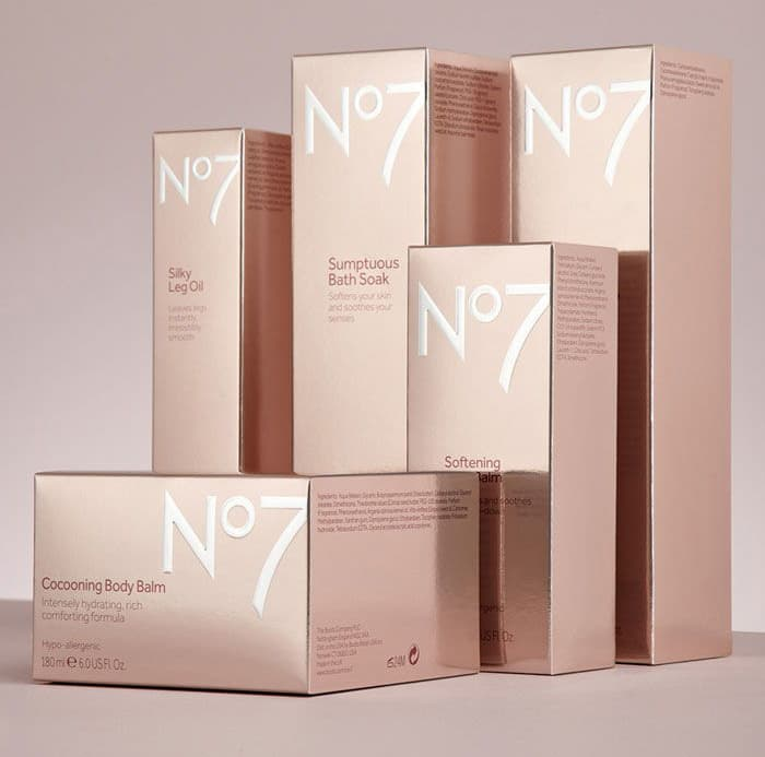 Example of glossy packaging