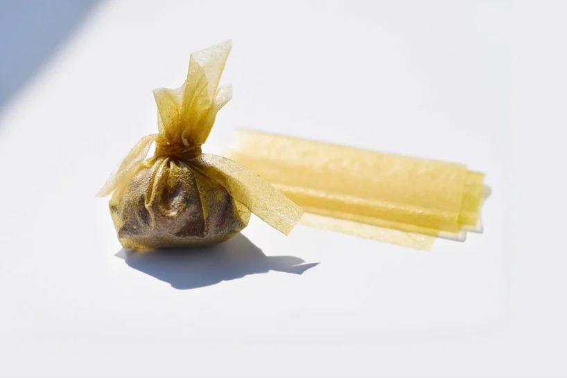 Example of seaweed packaging