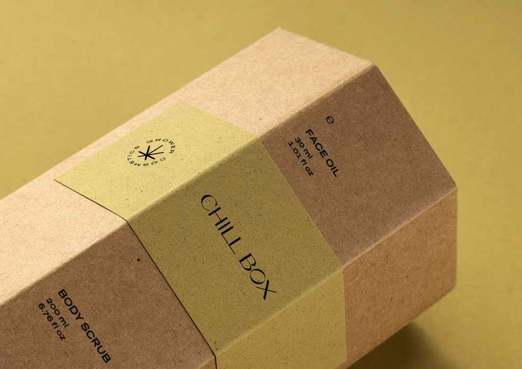 Example of eco-friendly packaging