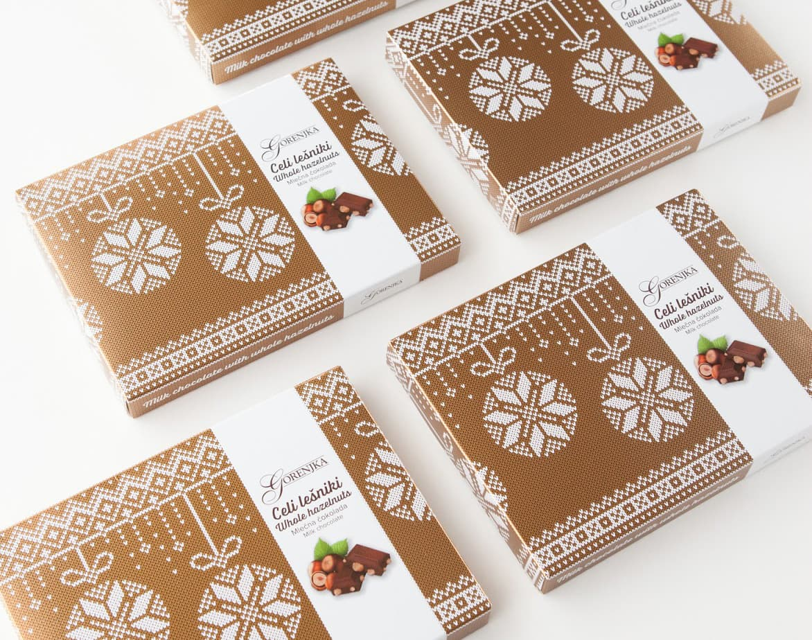 Example of budget friendly holiday packaging