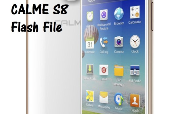 CALME S8 flash file free MT6572 [scatter file]