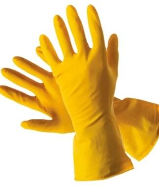 Перчатки хозяйственные (латекс)