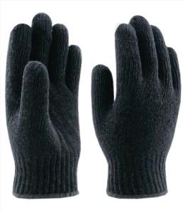 Перчатки вязаные шерстяные без ПВХ 5 нитей (зима)