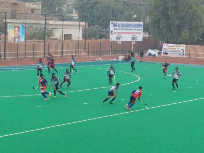 Action Pic- 3rd day Nationals at Sukkur