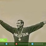(1968) captain, Tariq Aziz, after winning the Olympics