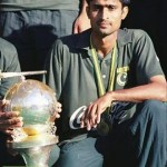 Shahbaz Ahmad Senior with world cup 1994