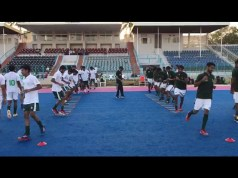 team Practice Hockey Karachi Camp