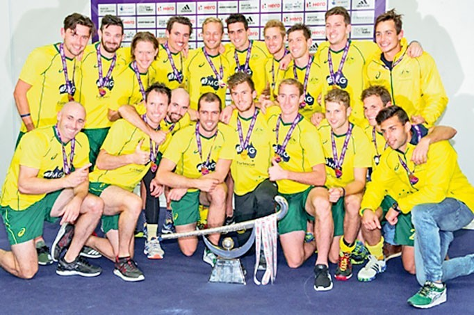 Australia v India - Final Hero Hockey Champions Trophy, Lee Val