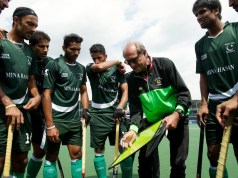 Rolents Oltmans Team pakistan hockey coach India - Pakistan