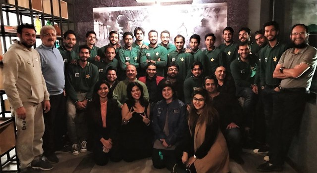 Customs Officers Hosted Pakistan Hockey Team